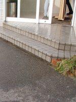 収納式玄関スロープ